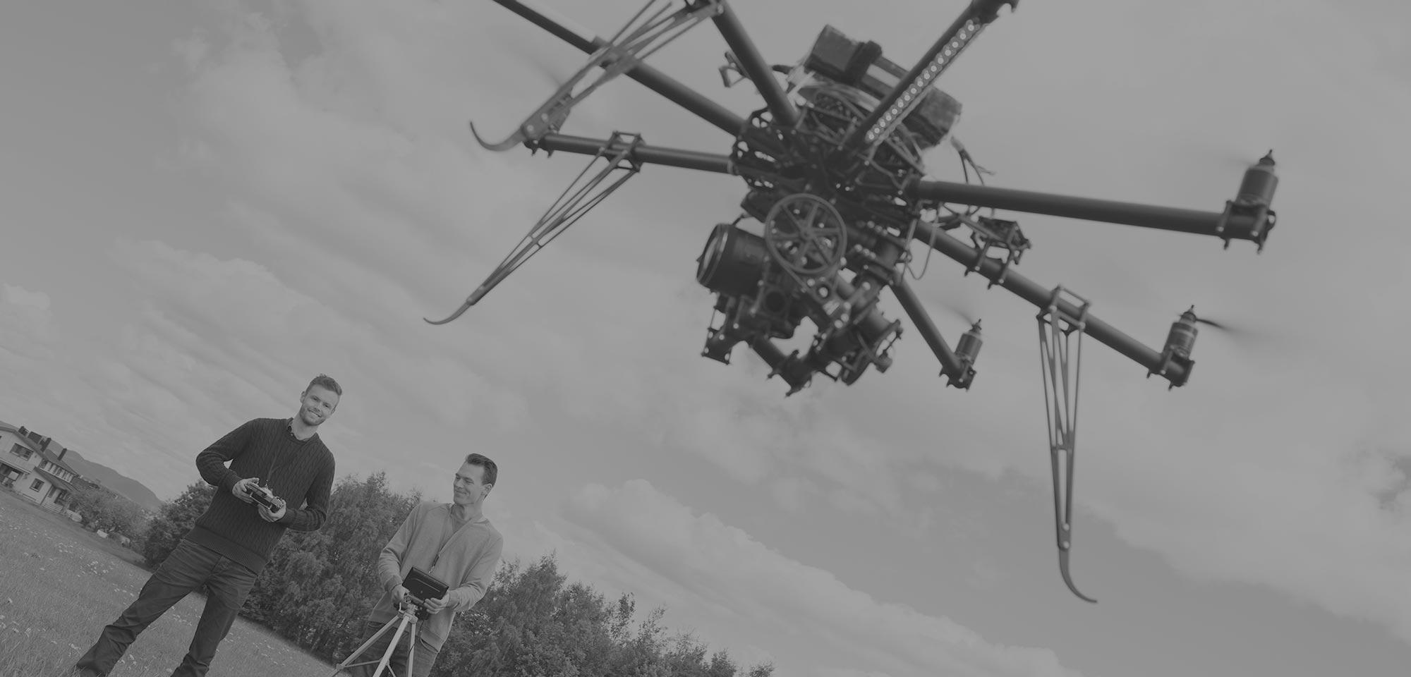 Noleggio Drone